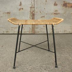Basket Hocker, Conni Kern Interior: Design und vintage Möbel, Leuchten und Objekte in Mannheim