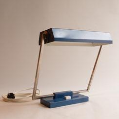 große Pfäffle Schreibtischleuchte in petrol, Conni Kern Interior, Design und vintage Möbel in Mannheim