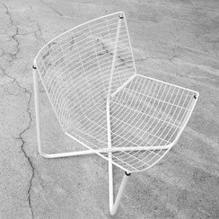 Järpen Wire Lounge Chair by Niels Gammelgaard for IKEA