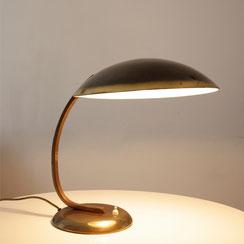 große Bauhaus Messing Schreibtischleuchte, president desk lamp