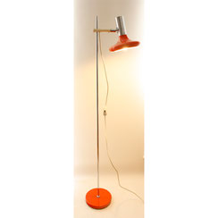Stehleuchte OMI Chrom orange, Conni Kern Interior, Design und vintage Möbel in Mannheim