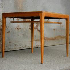 quadratischer Tisch mit Ablage von Hartmut Lohmeier für Wilkhahn, Conni Kern Interior: Design und vintage Möbel, Leuchten und Objekte in Mannheim