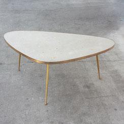 Mosaiktisch Berthold Müller, Nierentisch mid century coffee table. Conni Kern Interior, vintage Möbel, Leuchten und Objekte. Designklassiker in Mannheim.