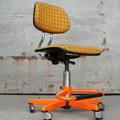 Sedus Bürostuhl orange grün, Conni Kern Interior, Design und vintage Möbel in Mannheim
