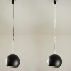 mid century Pendelleuchten vintage Kugellampe space age Kugel Lampe Leuchte 60er