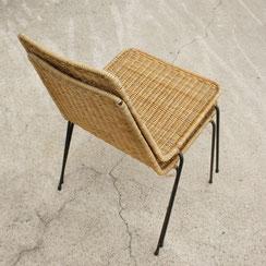 2er Set basket chairs