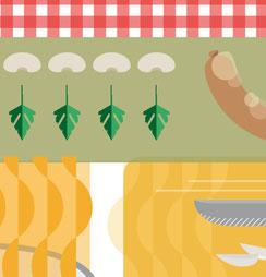 Il·lustració gastronòmica. Sílvia Llenas