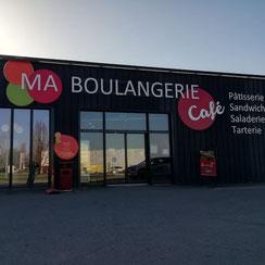 Façade Ma Boulangerie Café Parthenay