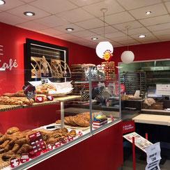 Intérieur Ma Boulangerie Café Le Blanc