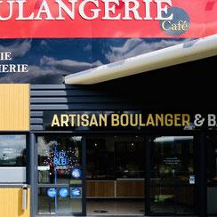 Façade Ma Boulangerie Café Saujon