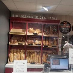 Bibliothèque des pains Ma Boulangerie Café Chauvigny