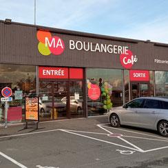 Façade Ma Boulangerie Café Mauléon