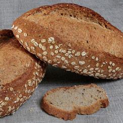 Pain aux 6 céréales fabriqué par Ma Boulangerie Café