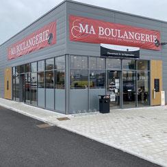 Façade Ma Boulangerie Café d'Olonne-sur-Mer