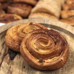 Pain aux raisins par Ma Boulangerie Café