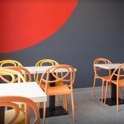 Salle de restauration Ma Boulangerie Café Cognad