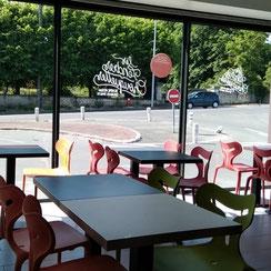 Salle de restauration Ma Boulangerie Café Chauvigny