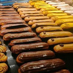 Eclairs fabriqués chez Ma Boulangerie Café