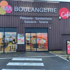 Façade Ma Boulangerie Café Cognac