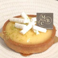 Tartelette au citron meringuée chez Ma Boulangerie Café
