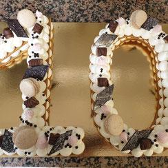 Number Cake 10 Ma Boulangerie Café