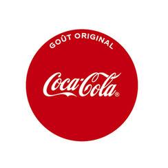 Logo Coca-Cola partenaire de Ma Boulangerie Café
