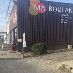Façade Ma Boulangerie Café Poitiers République