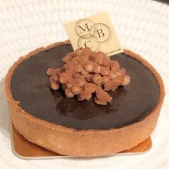 Tartelette au chocolat chez Ma Boulangerie Café
