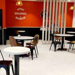 Salle de restauration Ma Boulangerie Café Montmorillon