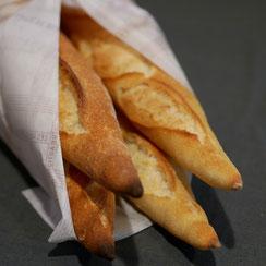 4 baguettes Banette réalisées par Ma Boulangerie Café