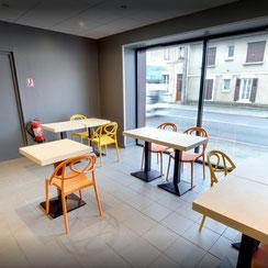 Salle de restauration Ma Boulangerie Café Le Blanc