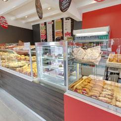 Interieur magasin de Ma Boulangerie Café Châtellerault 86