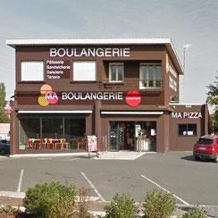 Façade Ma Boulangerie Café Chauvigny