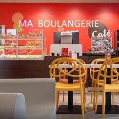 Salle de restauration Ma Boulangerie Café Parthenay