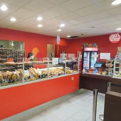 Intérieur Ma Boulangerie Café Vannes