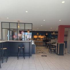 intérieur boutique ma boulangerie café Reze