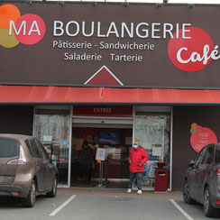 Façade Ma Boulangerie Café Poitiers Grand Large