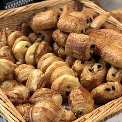 Mini Viennoiseries cuitent par Ma Boulangerie Café