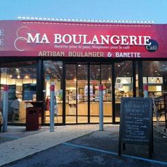 Façade Ma Boulangerie Café Nantes
