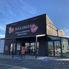 Extérieur de Ma Boulangerie Café Loches 37