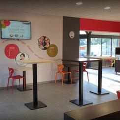 Salle de restauration Ma Boulangerie Café Vannes