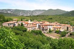 Village Artigues - Aude - Pyrénées Audoises