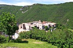 Village de Cailla - Vallée du Rébenty - Pyrénées Audoises