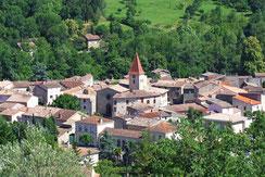 village de Campagne-sur-Aude - Pyrénées Audoises