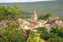 Village de St-Colombe-sur-l'Hers - Pyrénées Audoises