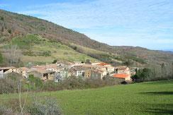 Village de St-Jean-de-Paracol - Vallée du Faby - Pyrénées Audoises