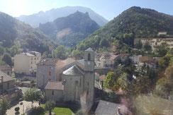 Village de Lapradelle-Puilaurens - Pyrénées Audoises