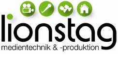 LOGO lionstag medientechnik &-produktion