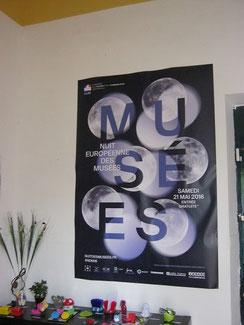 Affiche officiele de la Nuit Européenne des Musées
