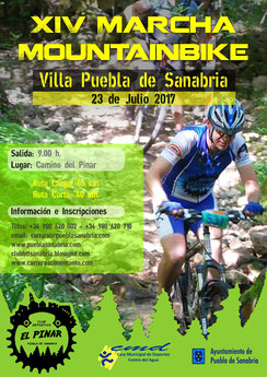 XIV MARCHA MTB CIUDAD DE PUEBLA DE SANABRIA - Puebla de Sanabria, 23-07-2017
